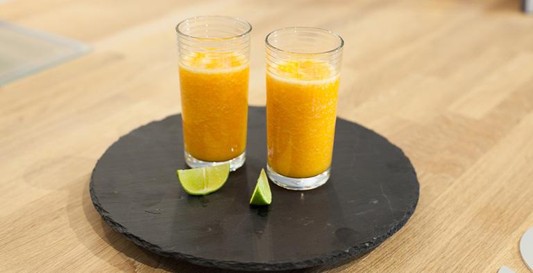 Gezond Smoothie recept met Mango & Wortel - Recept
