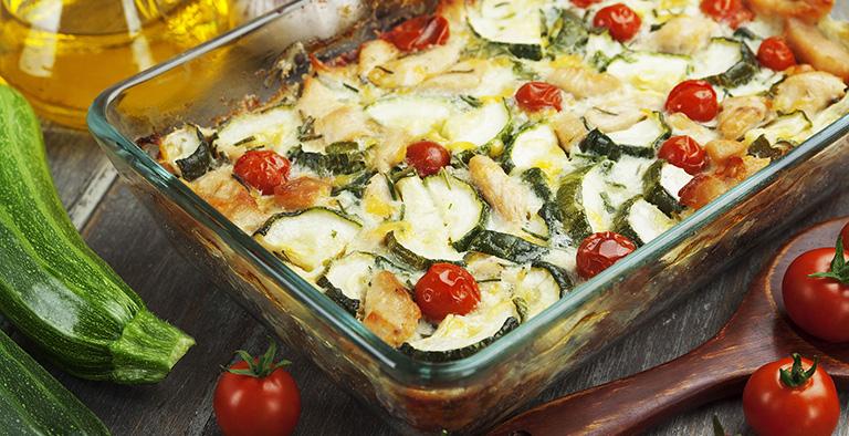 #17: Italiaanse courgetteschotel - Recept