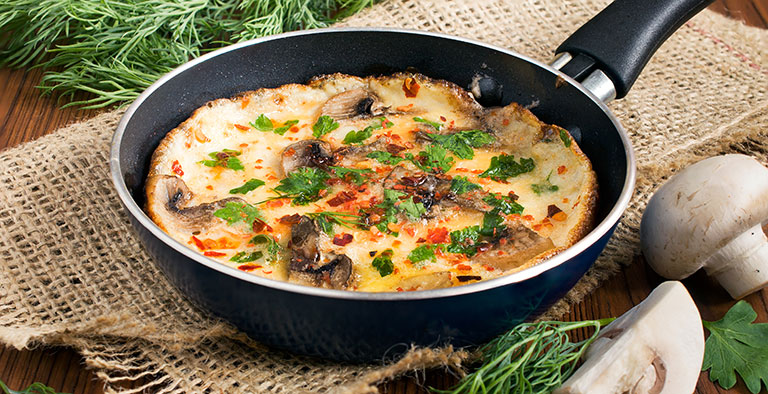 Cure4Life recept: Spaanse omelet