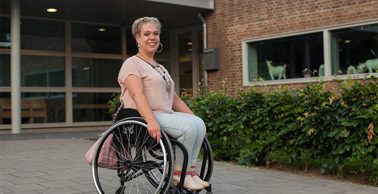 Afvallen in een rolstoel? Miranda is hét voorbeeld!
