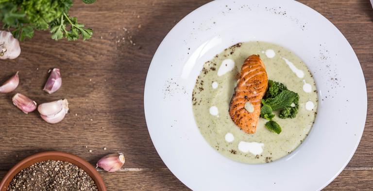 Broccolisoep met zalm - Cure4Life recept