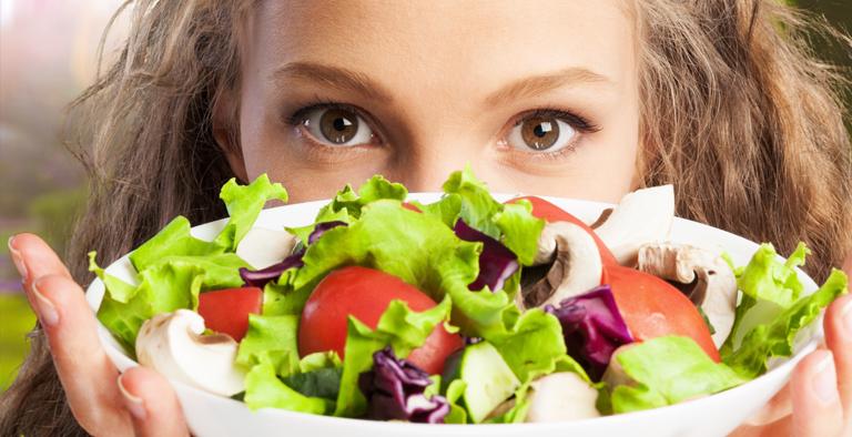 Bewust van wat je eet en drinkt.