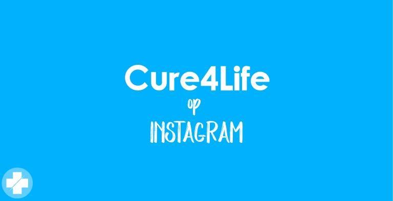 Cure4Life nu ook op Instagram!