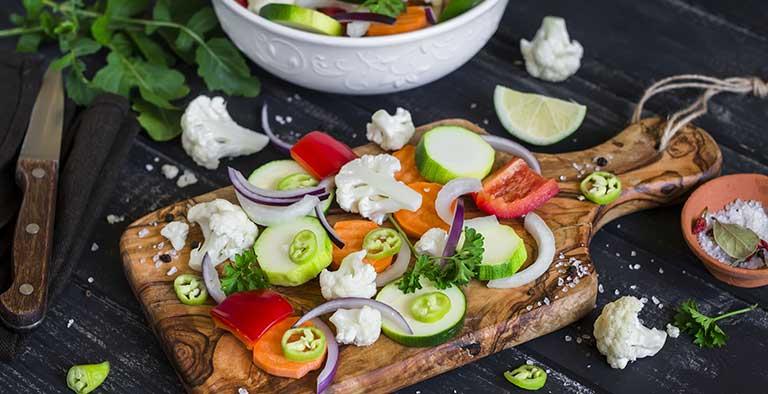 De voordelen van vegetarisch eten