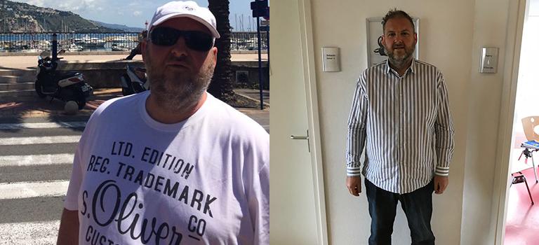 Rik verloor al 25 kilo