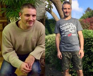 Joachim verloor 21 kg dankzij Cure4Life!
