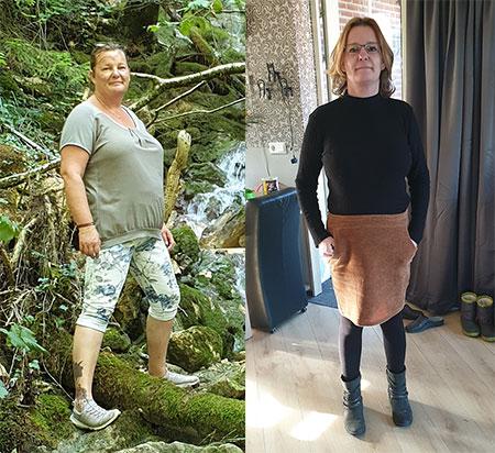 Sharon viel 20 kilo af dankzij Cure4Life!